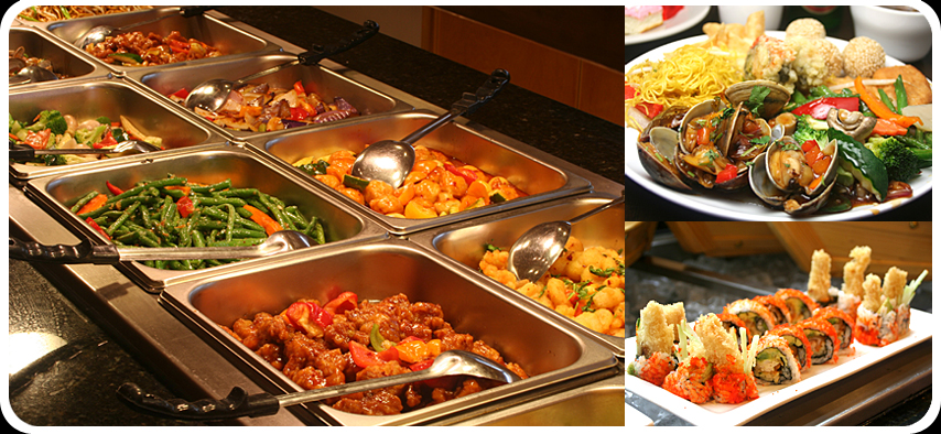 Japanese buffet for Asian cuisine buffet